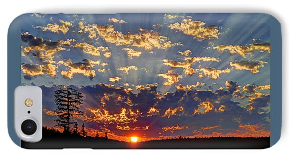 Sunset Spectacle IPhone Case by Peter Mooyman