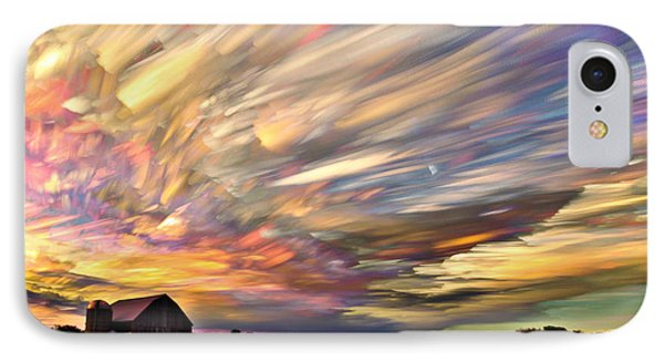 Sunset Spectrum IPhone Case
