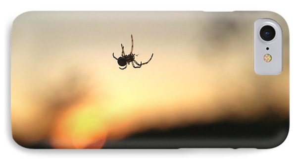 IPhone Case featuring the photograph Sunset Spidey by Nikki McInnes