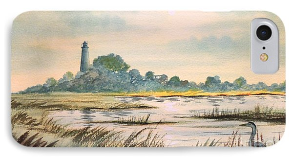 Sunset - St Marks Lighthouse Florida IPhone Case