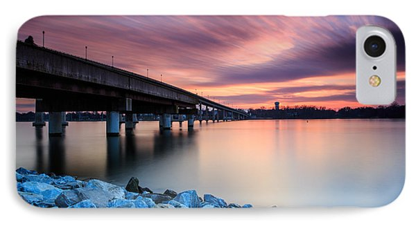 Sunset Streaks IPhone Case by Jennifer Casey