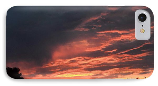 IPhone Case featuring the photograph Sunset Streaks by Luther Fine Art