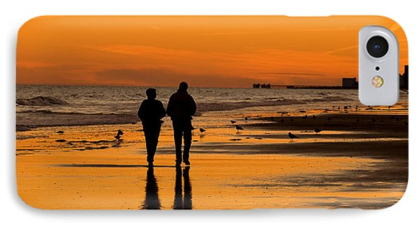 Sunset Stroll Phone Case by Al Powell Photography USA