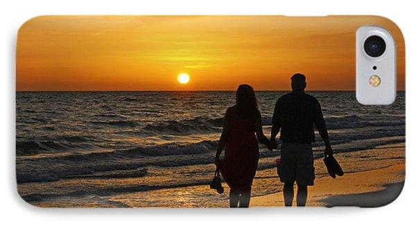 Sunset Stroll IPhone Case