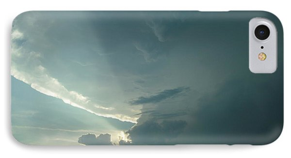IPhone Case featuring the photograph Sunset Supercell by Ed Sweeney