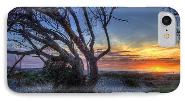 Sunset Swing IPhone Case