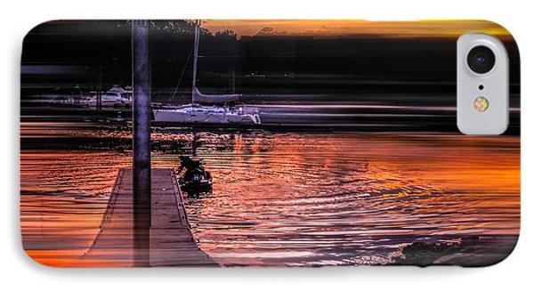 IPhone Case featuring the photograph Sunset Swirl by Glenn Feron