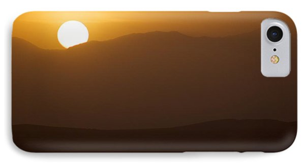 IPhone Case featuring the photograph Sunset The Ruby Mountains Wells Nevada by Michael Rogers