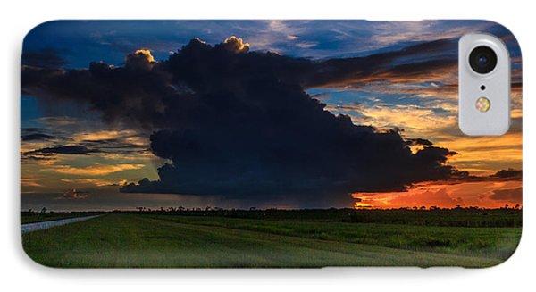 Sunset Through The Rain IPhone Case