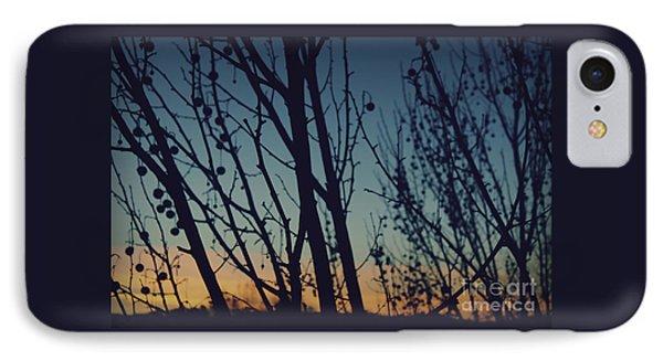 Sunset Through The Trees IPhone Case by Jennifer Ramirez