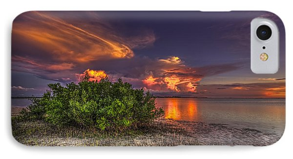 Sunset Thunder Storms IPhone Case by Marvin Spates