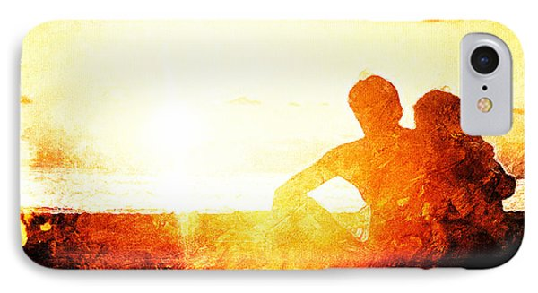 Sunset Together IPhone Case by Andrea Barbieri