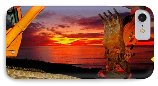 Sunset Tool IPhone Case
