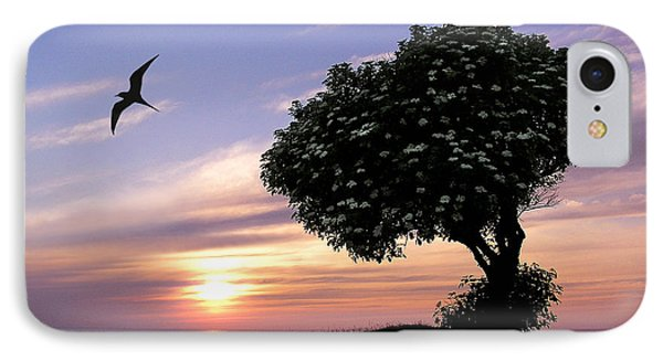 Sunset Tree Of Tranquility IPhone Case