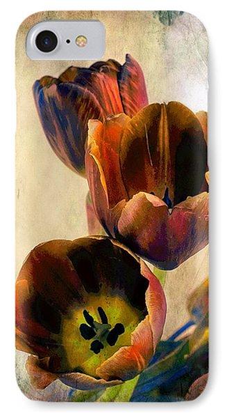 Sunset Tulips IPhone Case