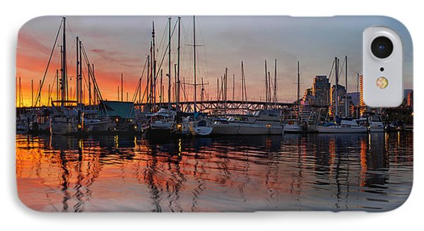 IPhone Case featuring the photograph Sunset View From Charleson Park In Vancouver Bc by JPLDesigns