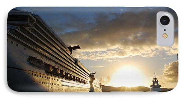 Sunset Voyage IPhone Case