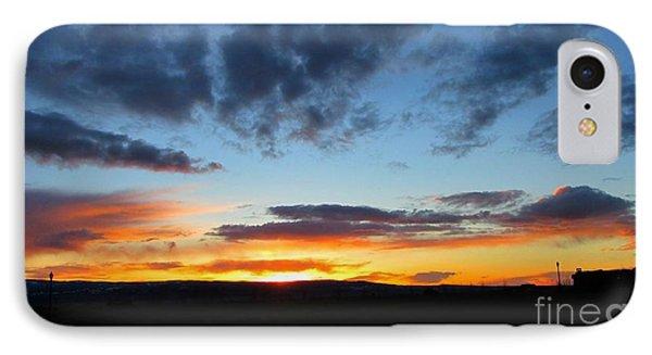 Sunset Walk IPhone Case by Janice Westerberg