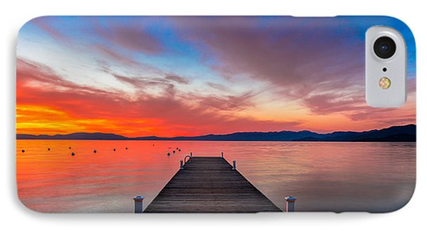 Sunset Walkway IPhone Case by Edgars Erglis