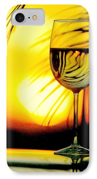 Sunset Wine IPhone Case