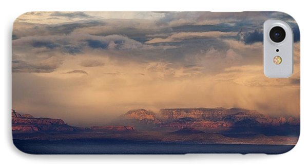 IPhone Case featuring the photograph Sunset Winter Storm In Secret Mountain Wilderness by Ron Chilston