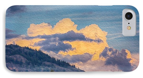 Sunset With A Smile Phone Case by Omaste Witkowski