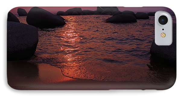 IPhone Case featuring the photograph Sunset With A Whale by Sean Sarsfield
