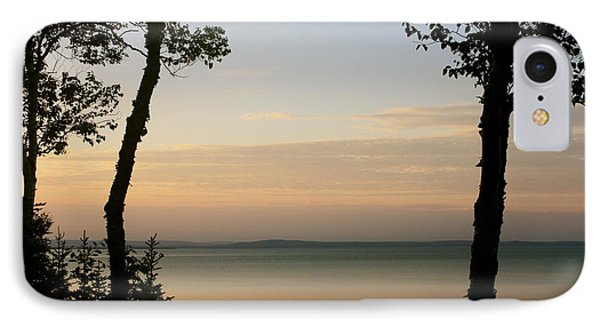 Sunsets On The Bay Of Fundy IPhone Case by Robin Regan