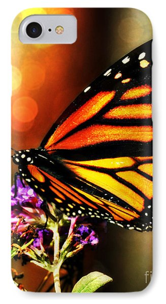 Sunshine Monarch  IPhone Case by Mindy Bench