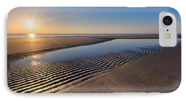 Sunshine On The Beach Phone Case by Debra and Dave Vanderlaan