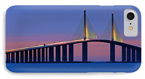 Sunshine Skyway At Dusk II IPhone Case