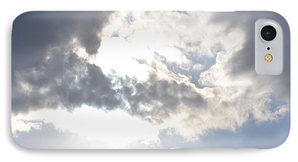 IPhone Case featuring the photograph Sunshine Through The Clouds by Tara Potts
