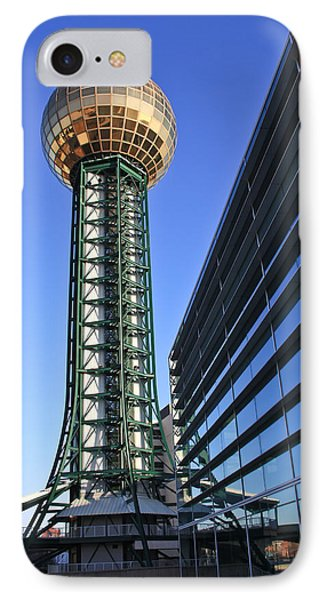 Sunsphere And Conference Center IPhone Case