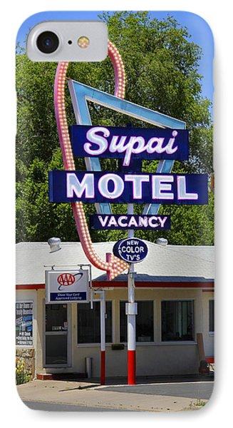 Supai Motel - Seligman Phone Case by Mike McGlothlen