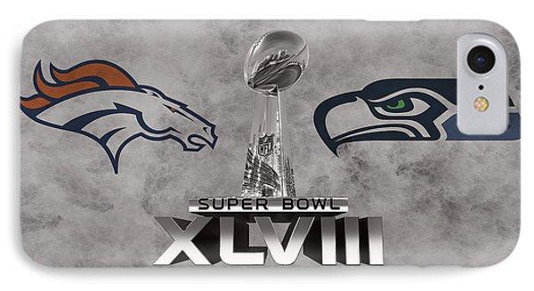 New York Mets iPhone 7 Case - Super Bowl Xlvlll by Joe Hamilton