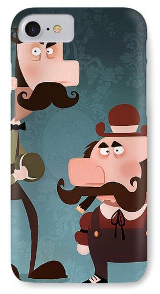 Super Bros. IPhone Case by Adam Ford