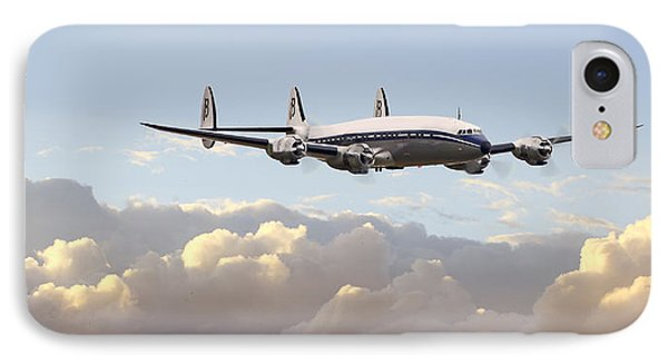 Super Constellation - End Of An Era IPhone Case by Pat Speirs