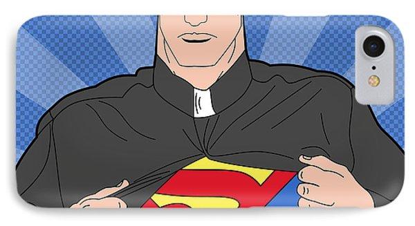 Super Man 8 IPhone Case by Mark Ashkenazi
