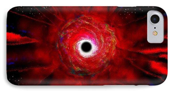 Super Massive Black Hole IPhone Case