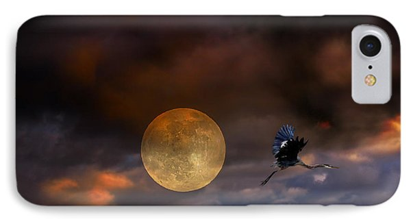 Super Moon 2013 Phone Case by Angela A Stanton