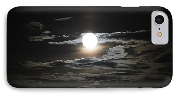 Super Moon 2013 IPhone Case by Cathy Lindsey