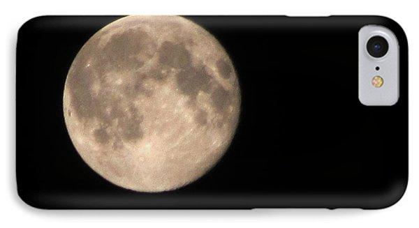 Super Moon IPhone Case by David Millenheft