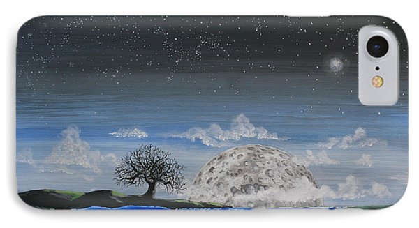 Super Moon Phone Case by Jim Bowers