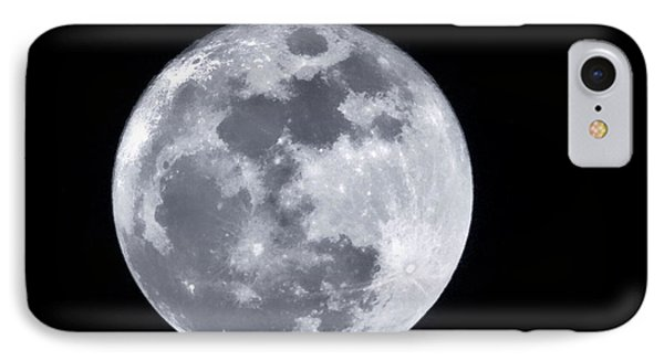 Super Moon Over Arizona  IPhone Case by Saija  Lehtonen