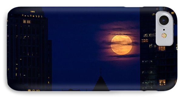 Super Moon Rises IPhone Case by Mike Ste Marie