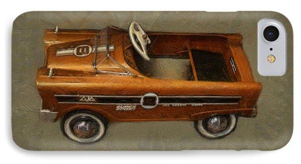 Super Sport Pedal Car Phone Case by Michelle Calkins
