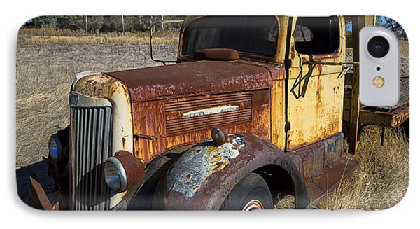 Super White Truck IPhone Case by Garry Gay