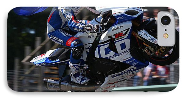 Superbike Superhero IPhone Case by Lawrence Christopher