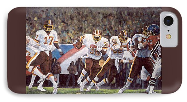 Superbowl Xii IPhone Case by Donna Tucker