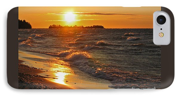 Superior Sunset Phone Case by Ann Horn